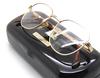 Shiny Gold Square Style Vintage Dolce & Gabbana Eyewear At Eyehuggers