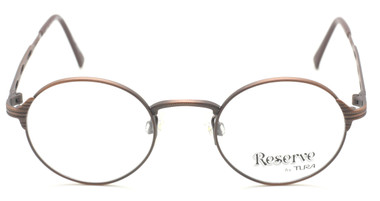 Reserve By TURA Classic ROUND Metal Glasses In A Soft