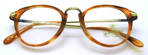 Winchester E/21 Panto Shaped Eyewear In Gold & Tortoiseshell At www.eyehuggers.co.uk