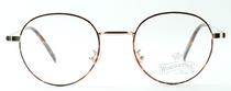 Panto Shaped Metal Glasses In Gold & Tortoiseshell Effect At www.eyehuggers.co.uk