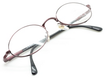 Winchester Gitche Plum Vintage Oval Glasses At Eyehuggers