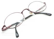 Winchester Gitche Plum Vintage Oval Glasses At Eyehuggers Ltd