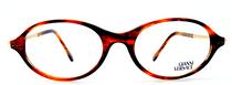 VERSACE DESIGNER V30 Oval Acrylic Vintage Eyeglasses In A Tortoiseshell Finish