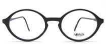 Versace F91 black acrylic glasses from www.eyehuggers.co.uk