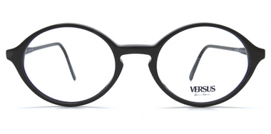 Versace F91 Black Acrylic Glasses from www.eyehuggers.co.uk