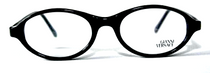 Versace V20 Black Oval Acrylic Glasses from www.eyehuggers.co.uk