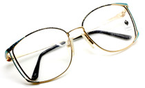 Vintage Faberge 1807 Oversized Designer Glasses At Eyehuggers