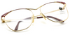 Vintage Faberge 1809 Large Eye Panto Shaped Glasses At Eyehuggers