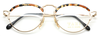 Gold & Tortoiseshell Vintage Designer Eyewear By Taxi At www.eyehuggers.co.uk