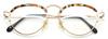 Gold & Tortoiseshell Vintage Designer Eyewear By Taxi At www.eyehuggers.co.uk