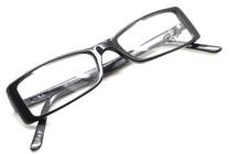 Ray-Ban 5028 Black Acrylic Rectangular Glasses from eyehuggers Ltd