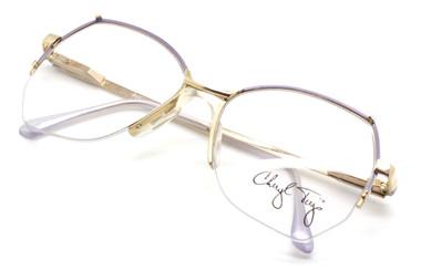 Cheryl Tiegs CT39 PU Hexagonal shaped Glasses from www.eyehuggers.co.uk