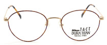 Traditional Panto Style Vintage Designer Glasses By Nikon 6204T-22