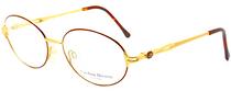Vintage Designer Oval Spectacles By Carolina Herrera At Eyehuggers