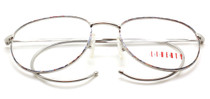 Liberty L234 Silver and Multi Panto Frames from eyehuggers Ltd
