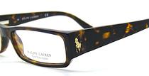 Designer Ralph Lauren RL 1475 Rectangular Frames In Dark Tortoiseshell Acrylic