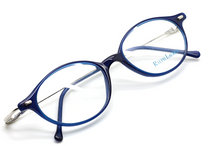 Designer Ralph Lauren 577 Electric Blue Oval Glasses At Eyehuggers