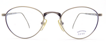 Engraved Antique Silver Eyewear In A Lovely Vintage Panto Shape At Eyehuggers