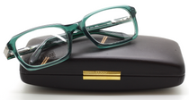 Gianfranco Ferre GFF 444 Vintage Rectangular Eyewear In Green Acrylic At www.eyehuggers.co.uk