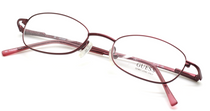 Guess 1202 Burgundy Oval Glasses from www.eyehuggers.co.uk