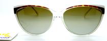 Ladies Polaroid Retro Continental Style Designer Sunglasses
