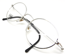 Gianfrance Ferre 409 Shiny Silver Oval Frames from www.eeyhuggers.co.uk