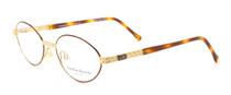 Carolina Herrera 701 Gold and Turtle Frames from eyehuggers Ltd