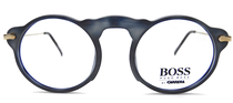Hugo Boss Vintage Eyewear Frames in wonderful grey blue acrylic