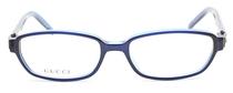 GUCCI 2446 Blue Rectangular Acrylic Vintage frames