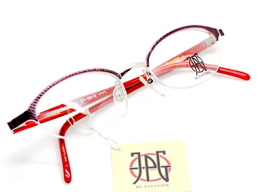 Jean Paul Gaultier 0013 half rim frames from eyehuggers Ltd