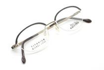 JPG 0015 Half Rim Oval Titanium Frame At eyehuggers