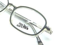 Jean Paul Gaultier Semi Clear Acrylic Outstanding Vintage Eyewear