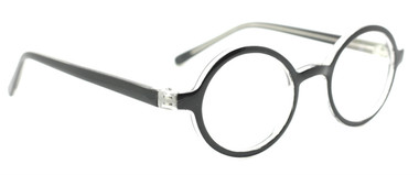 Round prescription glasses from www.eyehuggers.co.uk  Round style glasses like the ones you used to get on the NHS in the fifties and sixties.