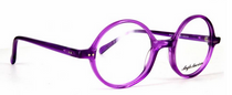 Anglo American 400 TR22 Purple Acrylic Round Glasses At Eyehuggers