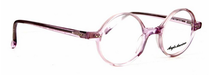 True Round Anglo American 400 TR21 Translucent Pink Acylic Glasses At Eyehuggers