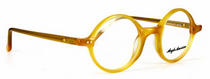 Bold Yellow True Round 400 Glasses By Anglo American At Eyehuggers