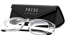 Pride 601 Clear Eyewear Hand Made in Italy Buy Them At Eyehuggers