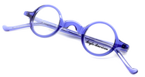 Anglo American Groucho Brilliant Blue (TR20) Glasses from www.eyehuggers.co.uk