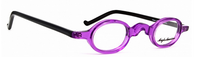 Vintage Style Small Oval Acrylic Spectacles By Anglo American At www.eyehuggers.co.uk