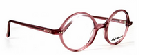 Translucent Pink True Round 400 Glasses By Anglo American At Eyehuggers