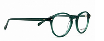 Vintage Style Brilliant Green Acrylic Panto Shaped Glasses By Anglo American At www.eyehuggers.co.uk
