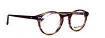 Vintage Style Purple and Green Acrylic Panto Shaped Glasses By Anglo American At www.eyehuggers.co.uk
