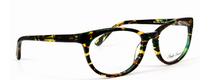 Anglo American Eliska TOWG Cat Eye Style Acrylic Glasses In Green Tortoiseshell Effect At www.eyehuggers.co.uk