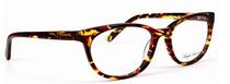 Anglo American Eliska TOWR Cat Eye Style Acrylic Glasses In Red Tortoiseshell Effect At www.eyehuggers.co.uk