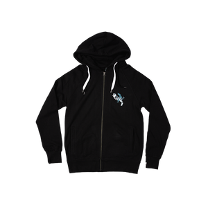 Squeeze Bird Black Hoodie (UK shipping only)