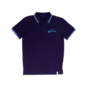 Squeeze Key Blue Polo Shirt