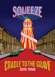 Cradle To The Grave 2015 Tour Brochure