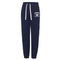 College Cuffed Jog Pants Navy (Ladies)