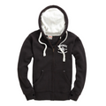Ultra Premium Zipped Hoodie – Dusty Black