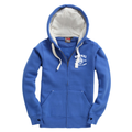 Ultra Premium Zipped Hoodie – Vintage Royal